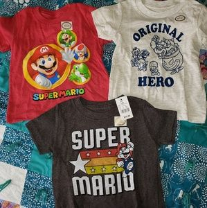The Super Mario shirts (12 month)